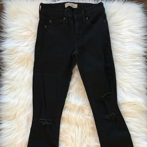 GAP Ripped Black Jeans